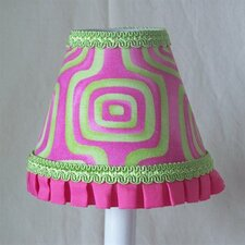 "5"" Blast of Color Fabric Empire Candelabra Shade"