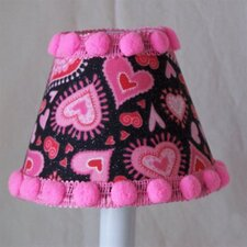 <strong>Silly Bear Lighting</strong> Funky Hearts Table Lamp Shade
