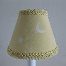 "5"" Good Night Sky Fabric Empire Candelabra Shade"