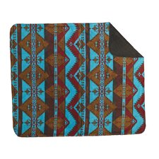 Acrylic Native Journey Double-Sided Throw