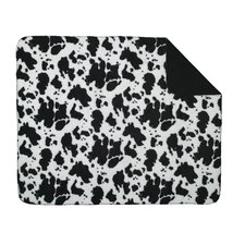 <strong>Denali Throws</strong> Acrylic Cow Double-Sided Throw