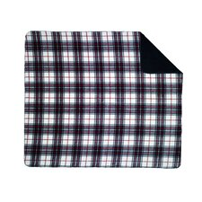 Acrylic Plaid Double-Sided Throw