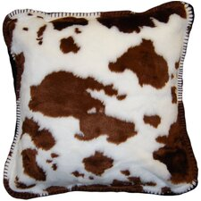<strong>Denali Throws</strong> Acrylic / Polyester Cow Pillow