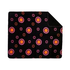 Acrylic Polka Dot Double-Sided Throw