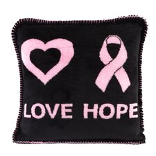 <strong>Denali Throws</strong> Acrylic / Polyester Love Hope Pillow