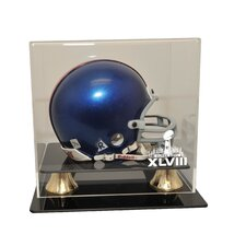 Super Bowl 48 Deluxe Mini Helmet Display