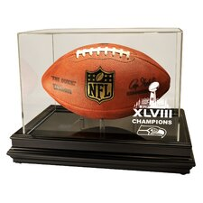 Seattle Seahawks Super Bowl 48 Champions Boardroom Football Display