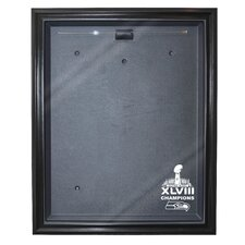 Seattle Seahawks Super Bowl 48 Champions Cabinet Style Jersey Display