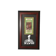Super Bowl 48 Wall Mountable Ticket Display