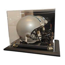 Zenith Helmet Display in Mahogany