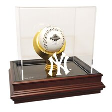 New York Yankees NY Logo Boardroom Base Single Baseball Display