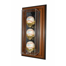 "3 Baseball ""Case-Up"" Display"