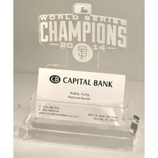 2014 San Francisco Giants World Series Champions Business Card Holder