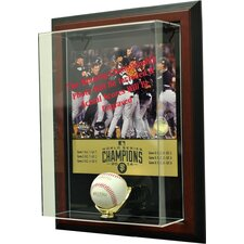 2014 San Francisco Giants World Series Champions Framed Case-Up