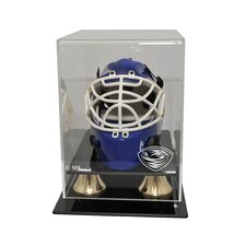 "NHL 8"" Mini Hockey Helmet Display Case"