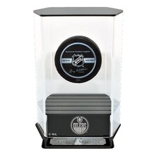 Floating Hockey Puck Display Case