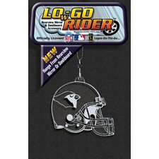 NFL Low-Go Rider Rearview Mirror Accessory (Set of 3)