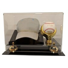 Cap and Baseball Display Case