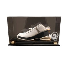 <strong>Caseworks International</strong> Single Shoe Display Case with Gold Risers
