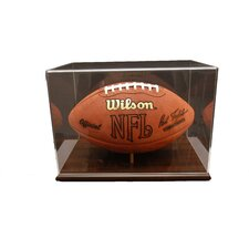 Football Display Case with Acrylic
