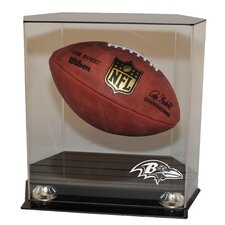 Floating Football Display Case