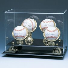 Four Baseball Gold Gloves and Risers