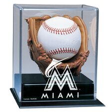 MLB Soft Glove Baseball Display