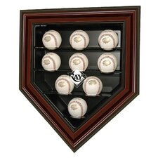 MLB Team 9 Baseball Home Plate Display
