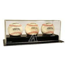 <strong>Caseworks International</strong> MLB Triple Baseball Display