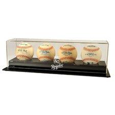 MLB Four Baseball Display
