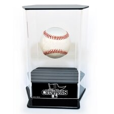 2013 Red Sox World Series Champs Floating Baseball Display
