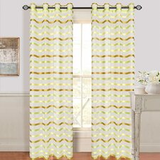 Sonya Grommet Curtain Single Panel
