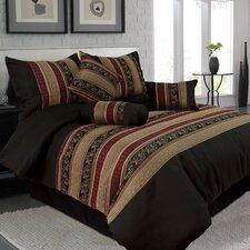 LIly 7 Piece Jacquard Comforter Set