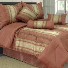 Kendall 7 Piece Jacquard Comforter Set