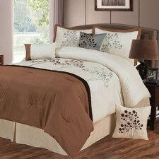 Brooke 7 Piece Comforter Set