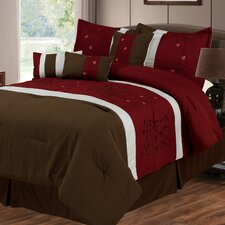 <strong>Lavish Home</strong> Sarah 7 Piece Comforter Set