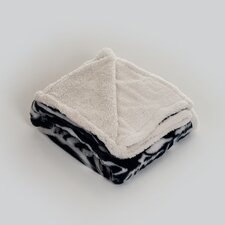 <strong>Lavish Home</strong> Zebra Polyester Fleece Throw Blanket