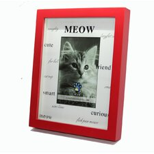 """Meow, Friend, Friend, Cute""  Picture Frame"