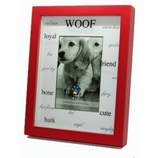 """Woof, Friend, Friend, Bone, Bark""  Picture Frame"