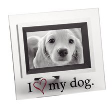 "<strong>LSC</strong> Home ""I Love My Dog"" Picture Frame"