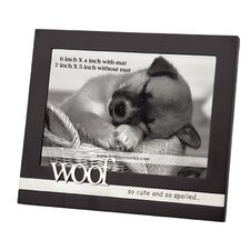 Home Woof Picture Frame