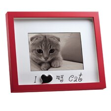 """I Love My Cat""  Picture Frame"