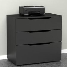 <strong>Megalak Finition Inc</strong> Next 3 Drawer Filing Cabinet