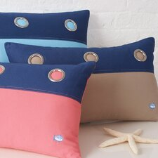 Grommet Cotton Pillow