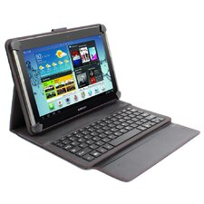 "<strong>Digital Treasures</strong> Universal Props Power and Keyboard Case for 10"" Tablets"
