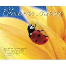 <strong>Willow Creek Press</strong> Closer to Nature 2014 Wall Calendar