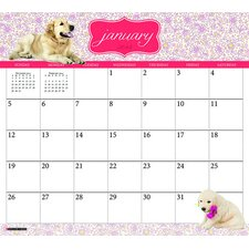 <strong>Willow Creek Press</strong> Goldens 2014 Magnetic Calendar