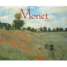 <strong>Willow Creek Press</strong> Monet 2014 Wall Calendar