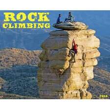 <strong>Willow Creek Press</strong> Rock Climbing 2014 Wall Calendar