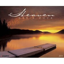 <strong>Willow Creek Press</strong> Heaven has a Dock 2014 Wall Calendar